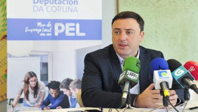 Presidente de la Deputación da Coruña, Valentín González Formoso