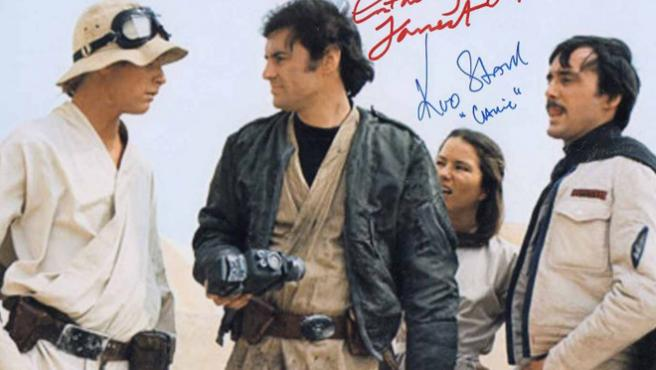 "Tatooine Graffity: ""La pandilla Skywalker"" que Lucas se cargó en la sala de montaje"