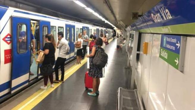 Una imagen del Metro de Madrid.