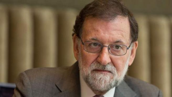 Rajoy, durante la entrevista con 20minutos.