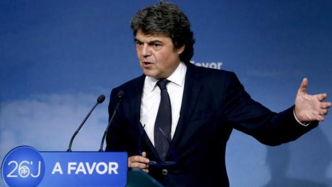 Jorge Moragas, durante una rueda de prensa.