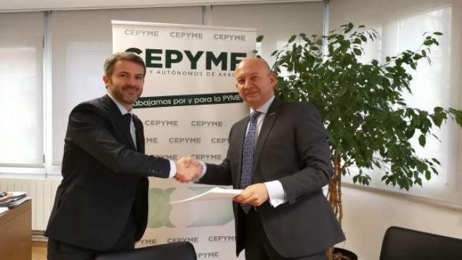 Cepyme Aragón y Toyota ofrecerán descuentos a pymes y autónomos