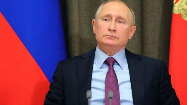 Imagen reciente del presidente de Rusia, Vladimir Putin.