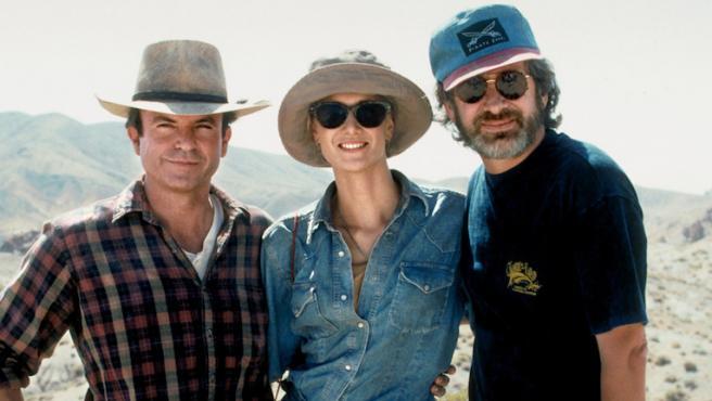 El mejor consejo que Steven Spielberg dio a Laura Dern en 'Parque Jurásico'
