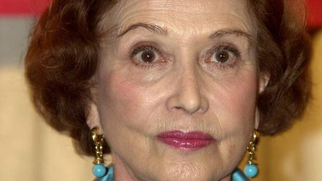 Carmen Franco, única hija del dictador Francisco Franco.