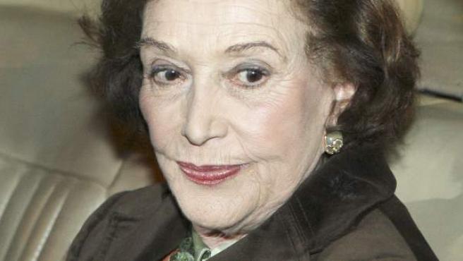 La fallecida Carmen Franco, en una imagen de 2008.