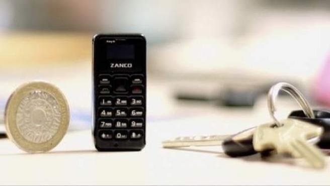 Zanco Tiny T1 es el teléfono móvil más pequeño del mundo.