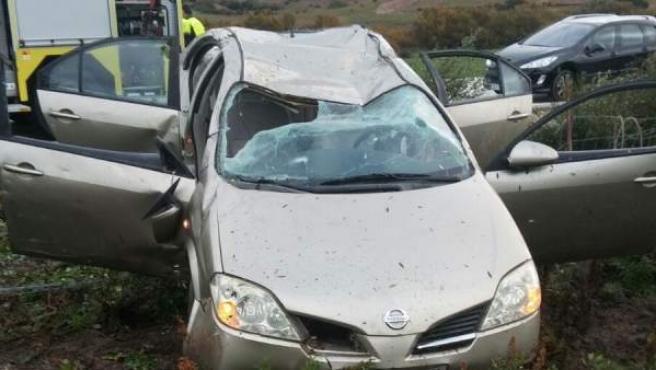 Foto de una accidente en Paterna.