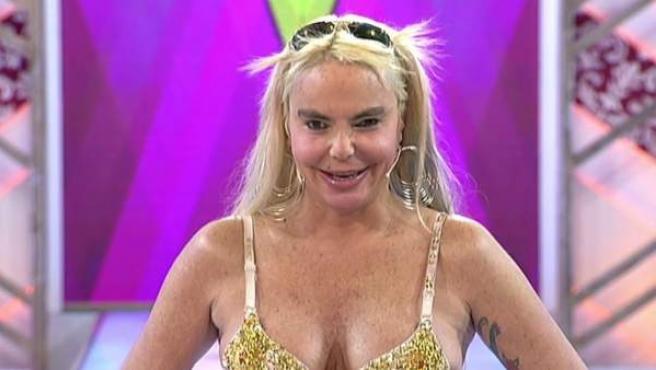 La actriz, cantante y presentadora de televisión, Leticia Sabater.