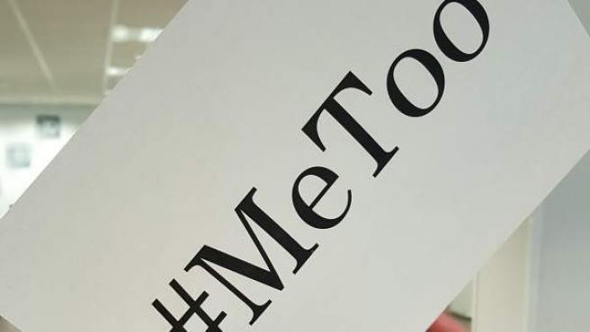 Uno de los hashtags más utilizados en 2018, #MeToo.