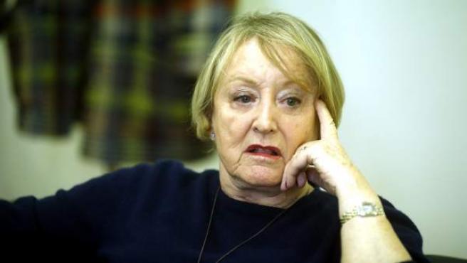 La presidenta de la Academia de Cine, Yvonne Blake, durante una entrevista.