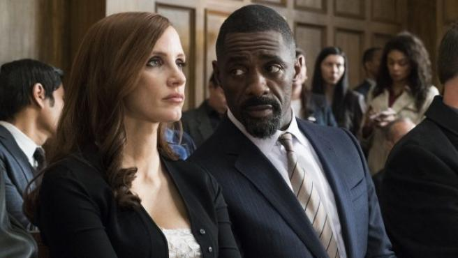 Fotograma de esta película protagonizada por Jessica Chastain e Idris Elba.