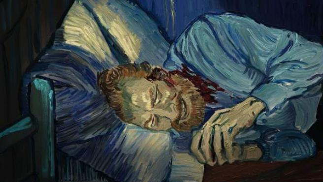 Fotograma de 'Loving Vincent', este largometraje de animación dedicado a la obra del pintor holandés se estrena en España el próximo 12 de enero.