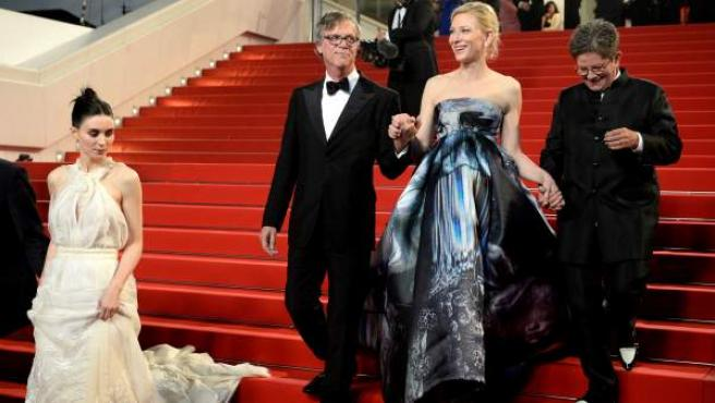La actriz australiana durante la 68 edición del festival de cine de Cannes.