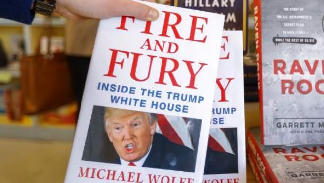 Portada del libro 'Fire and Fury' ('Fuego y Furia'), de Michael Wolff.