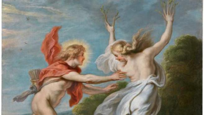 Apolo persiguiendo a Dafne. Theodoor van Thulden. Óleo sobre lienzo. 1636-38 © Museo Nacional del Prado