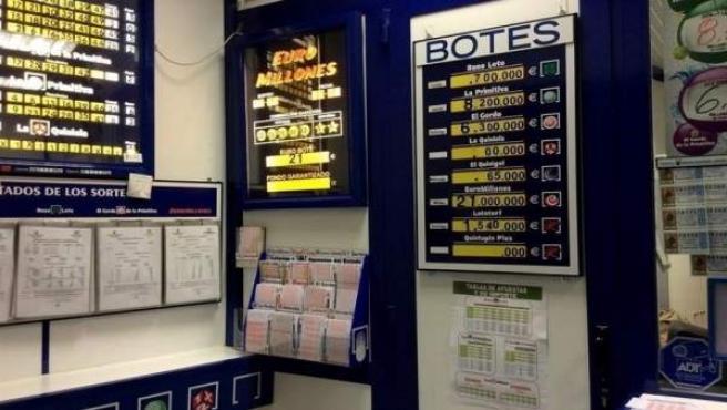 Administración de lotería
