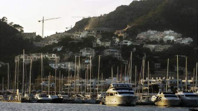 Puerto en Andratx, Mallorca