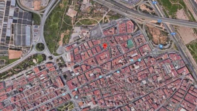 Calle Ramón y Cajal de Xirivella