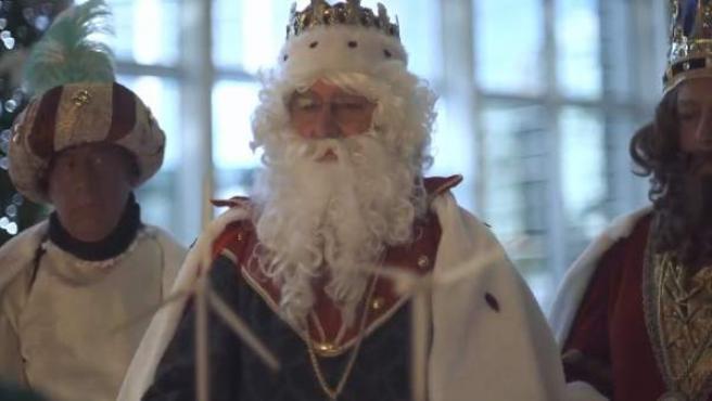 Los Reyes, al ver los molinos