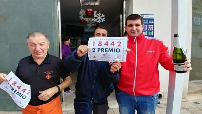 El Pelotazo vende boletos agraciados con el segundo premio