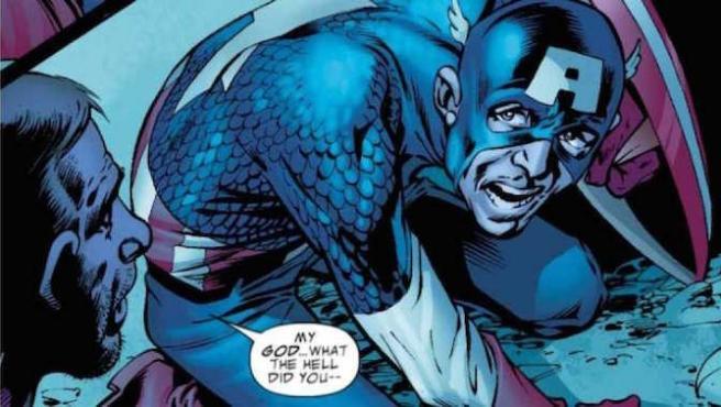 Capitán América fue un drogadicto