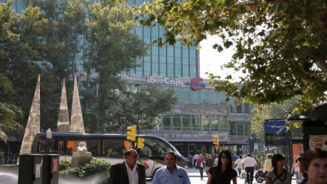 Sede de Ibercaja en Zaragoza