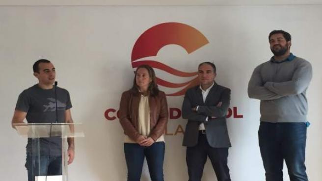 Elías Bendodo deportistas malagueños Rubén Ruzafa Borja Vivas Carolina Navarro