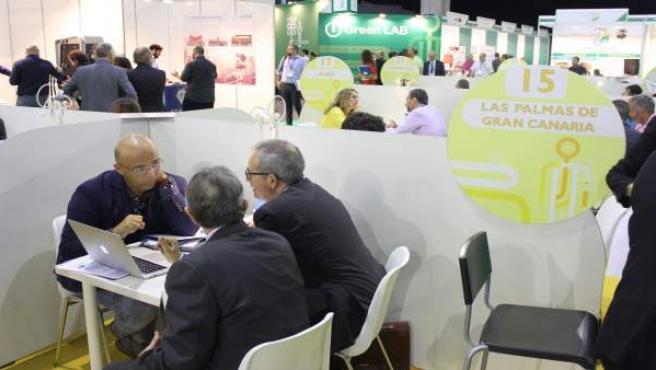 Zona de networking Foro Greencities 2017