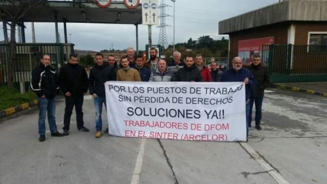 Trabajadores de Duro Felguera Operaciones y Montajes S.A.U.
