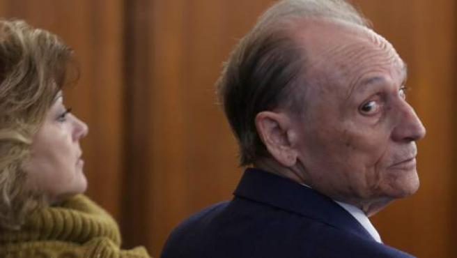 Manuel Ruiz de Lopera, en una sesión del juicio