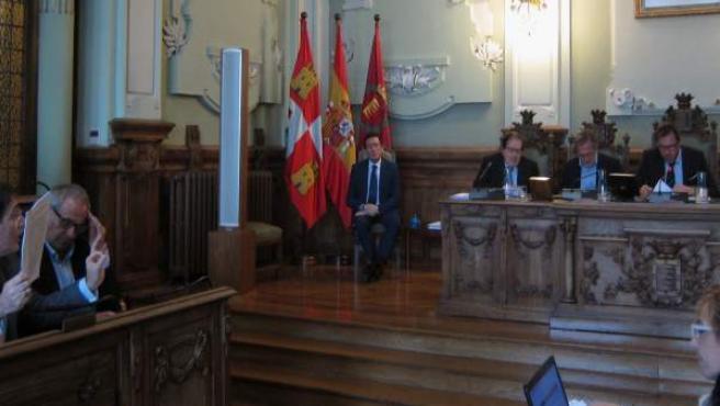 Debate en el Pleno del Ayuntamiento de Valladolid
