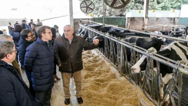 Feijóo visita la Cooperativa Agraria Provincial de A Coruña