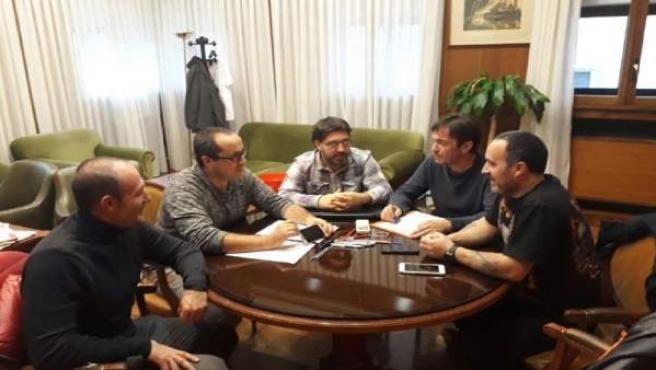 Reunión de ZEC con el comité de empresa del alcantarillado