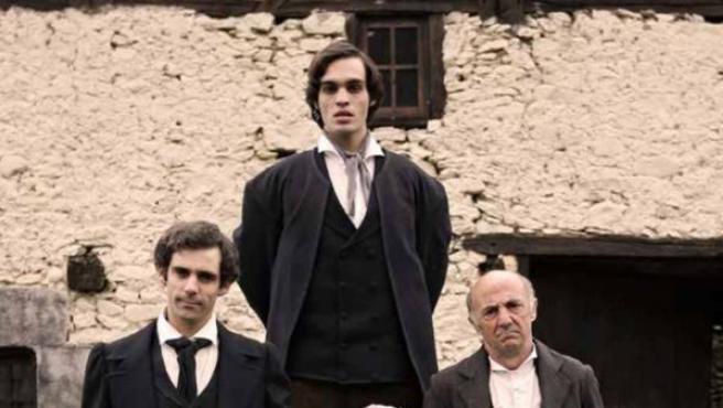 Fotograma de la película Handia, dirigida por Jon Garaño y Aitor Arregi.