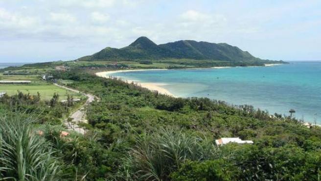 La isla japonesa de Ishigaki, al oeste de las islas Okinawa.
