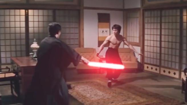 Vídeo del día: Bruce Lee y los sables láser de 'Furia Oriental'