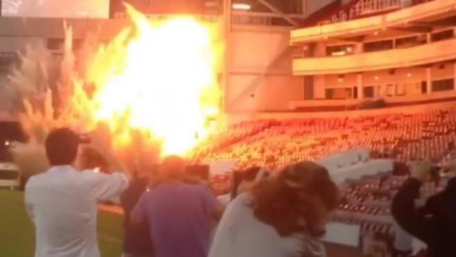 La Jungla de cristal en el estadio del West Ham