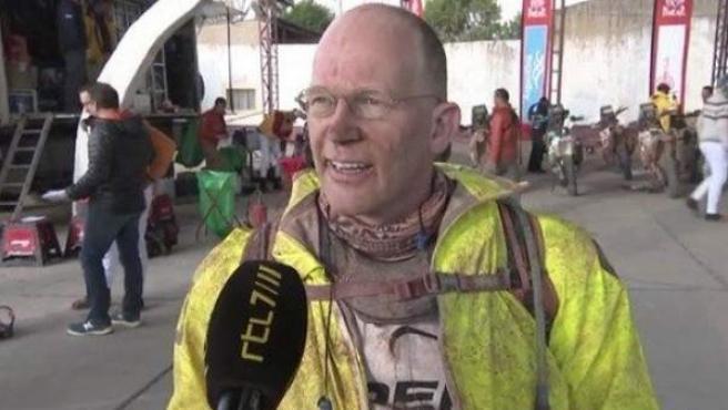 El millonario holandés Kees Koolen, fundador de booking.com, responsable de la sanción a Carlos Sainz en el Dakar.