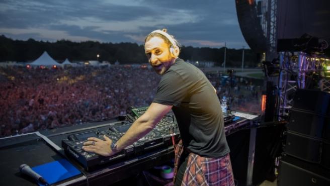 David Guetta en una sesión en Hamburgo, Alemania, en 2016.