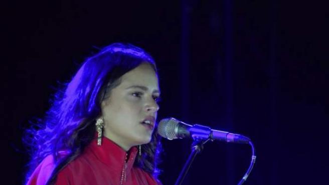 La cantaora de flamenco barcelonesa Rosalía.