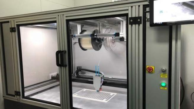 Impresora 3D de Navantia