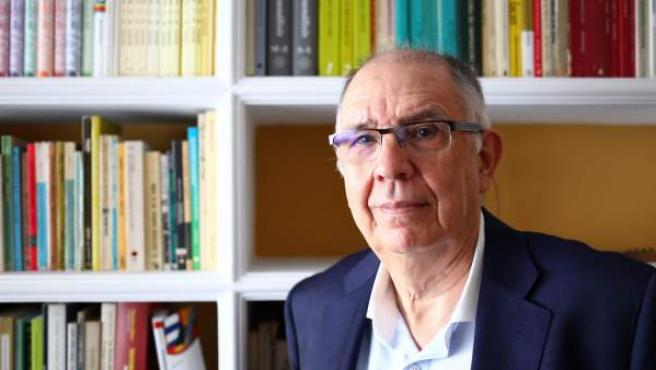 El psiquiatra Alejandro Rocamora, durante la entrevista con 20minutos.