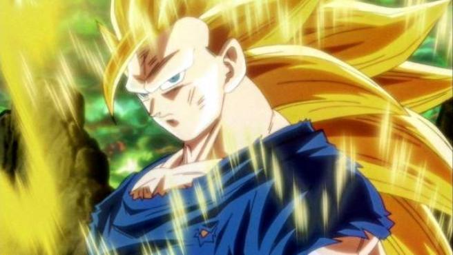 Goku transformado en Super Saiyan 3 en un capítulo 'Dragon Ball Super'.