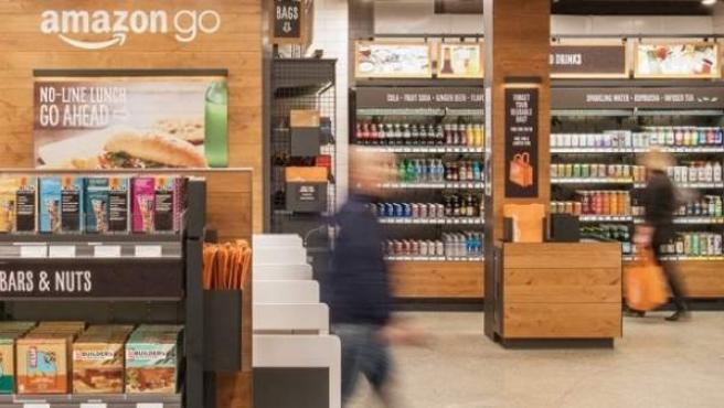 Amazon Go, el primer supermercado sin líneas de caja.