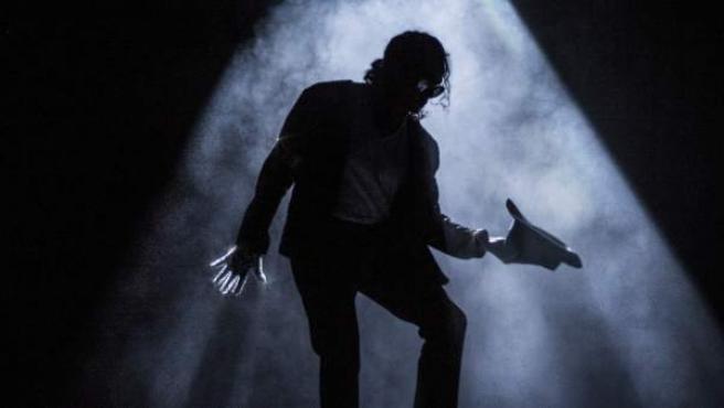 Uno de los momentos del musical 'Forever King of Pop'