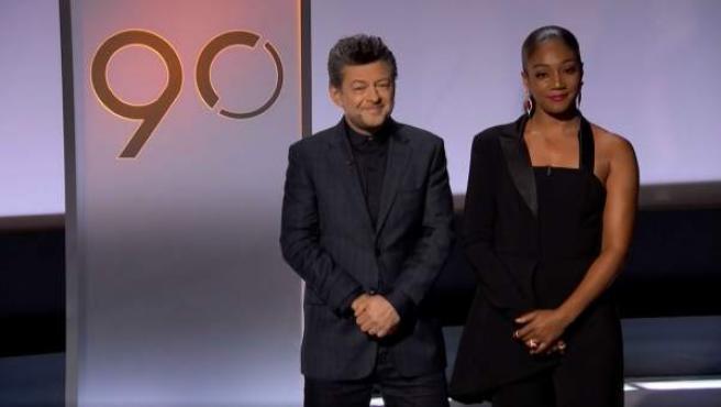 Andy Serkis y Tiffany Haddish presentan las nominaciones a los premios Óscar 2018.