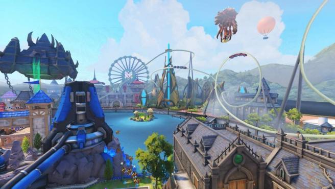 El nuevo mapa de 'Overwatch', Blizzard World, es un homenaje a 'Warcraft', 'Starcraft', 'Diablo'...