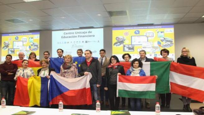 Proyecto Edufinet alumnos europeos