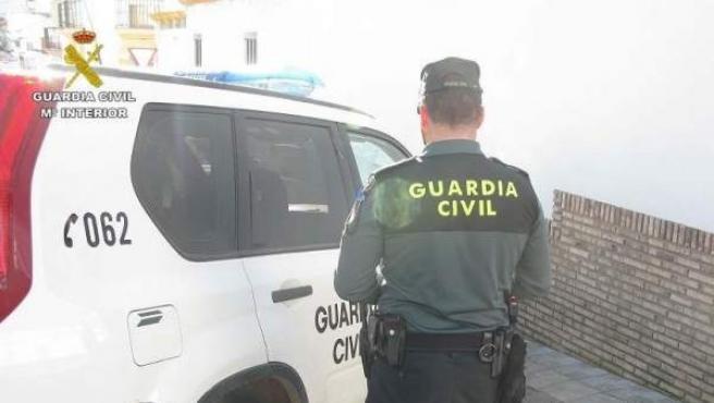 Agente de la Guardia Civil en una imagen de archivo.